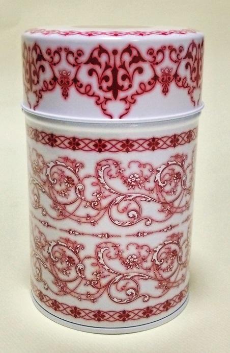 紅茶缶レッド