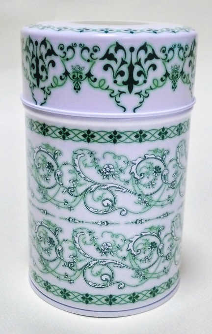 紅茶缶グリーン