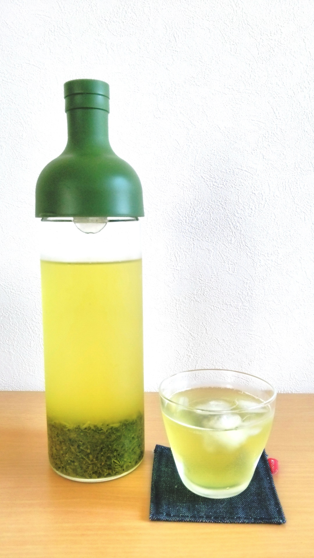 フィルターインボトル緑茶