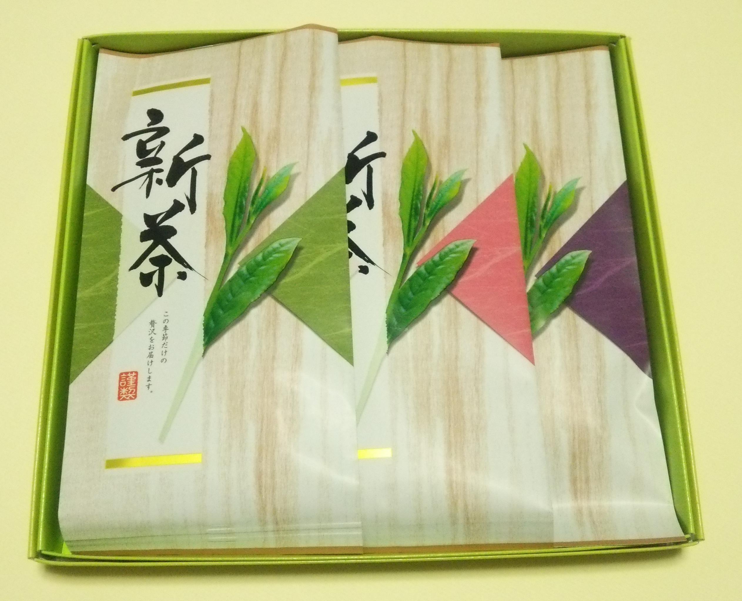 2015新茶新芽摘み3本入り