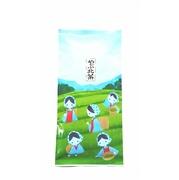 《定番煎茶》 ご自宅用、普段飲み用のお茶 やぶきた茶 100g袋入り かわいい茶摘パッケージ