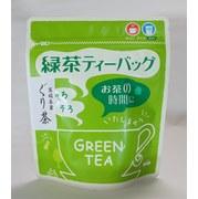 『期間限定』 深蒸しぐり茶ティーバッグ 伊豆地方で昔から飲まれているぐり茶を贅沢に100%使用したティーバッグです。甘味が濃くまろやかな味 (5g×15個)